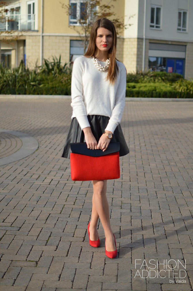 Red outfit for red wine | Fashion Addicted