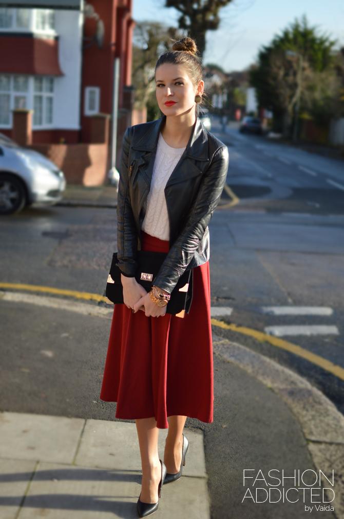 red-midi-swing-skirt