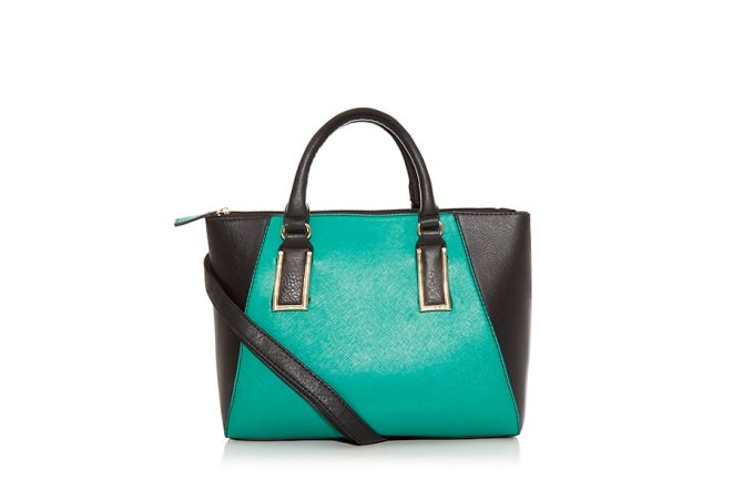 green-contrast-mini-tote-bag