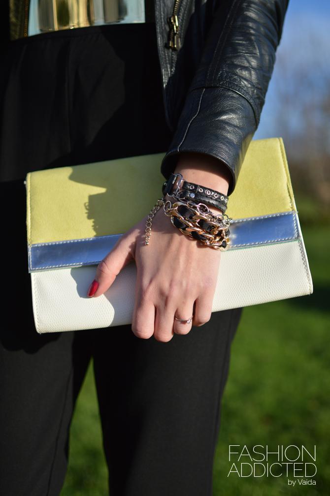 yellow-white-clutch-bag