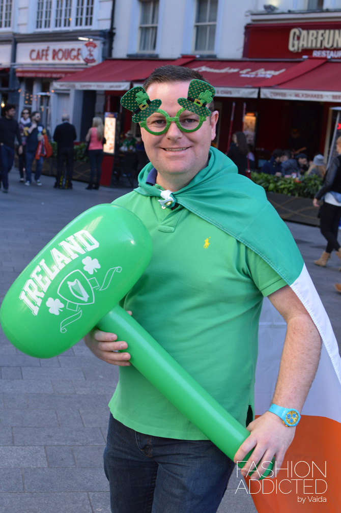 london leicester square st patrick