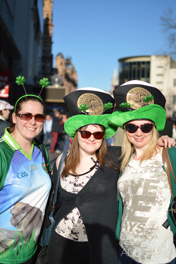 st patrick's day leicester square