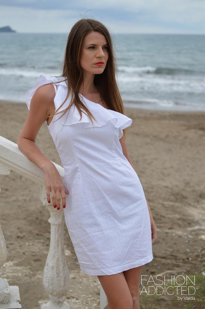white-one-shoulder-dress