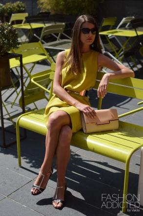 Yellow-cocoon-dress
