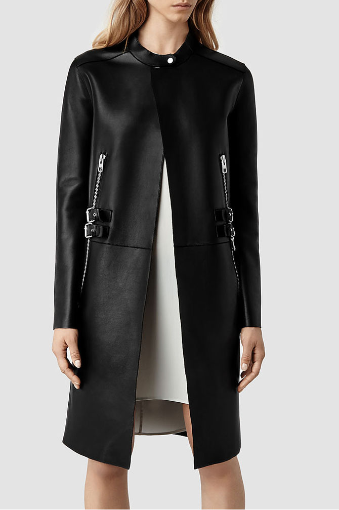 Langer Leather Coat