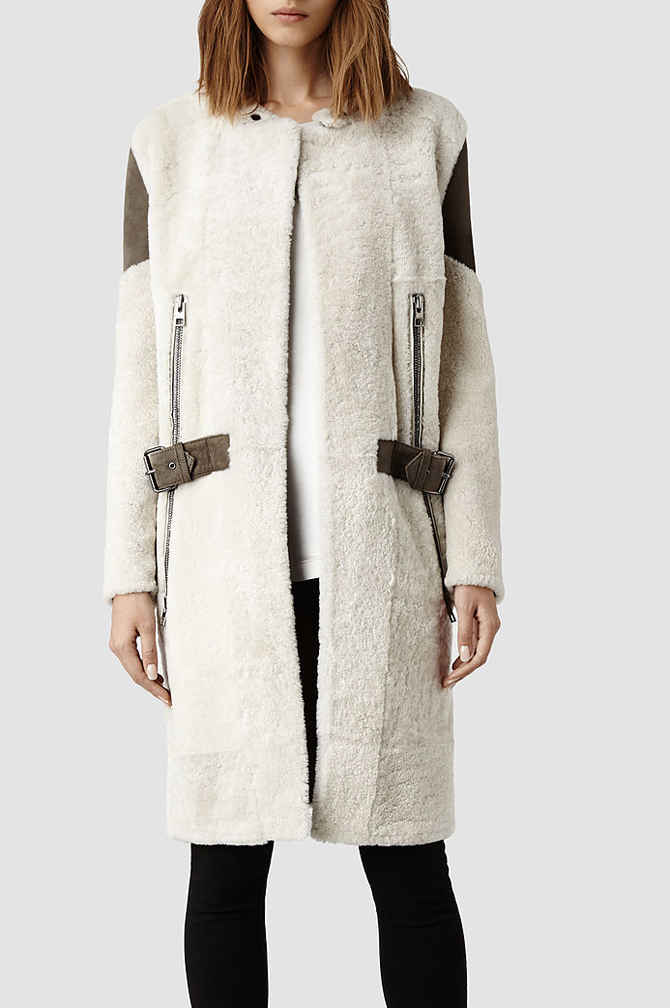 Langer Sheepskin Coat