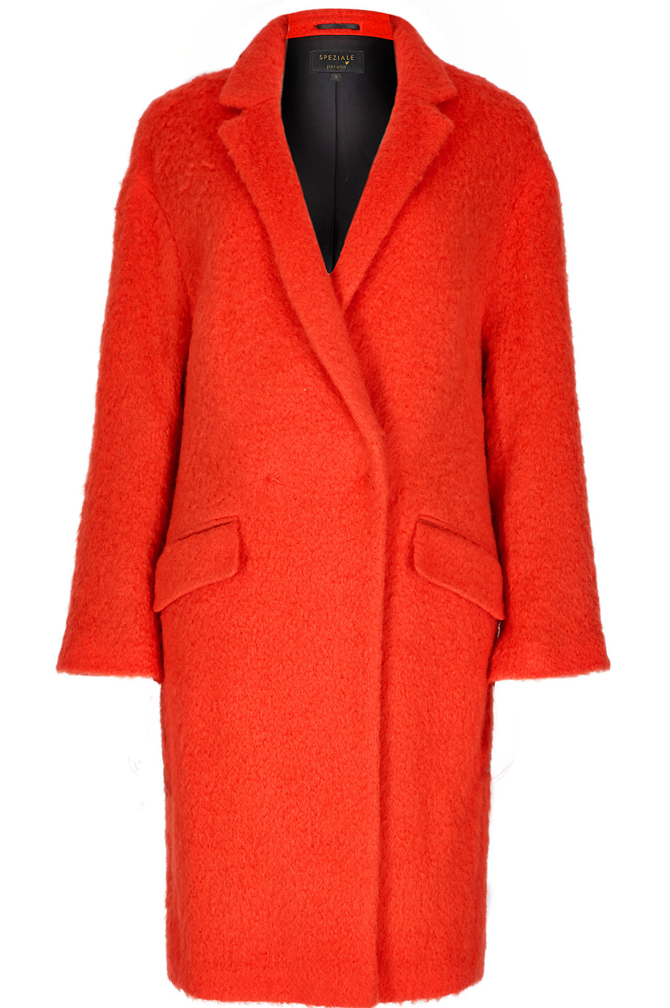 Speziale Wool Rich Cocoon Coat