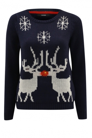Light-up-Christmas-Reindeer-Kiss-Jumper