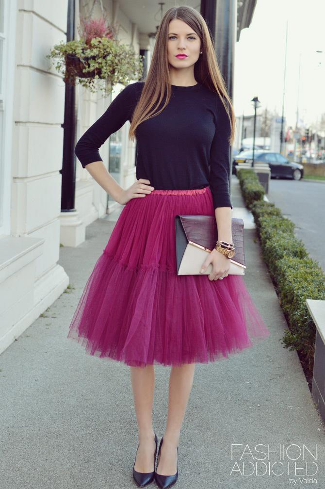 Модные цвета и принты юбки-американки