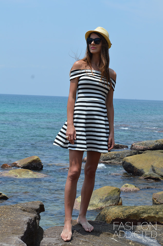 asos stripe dress
