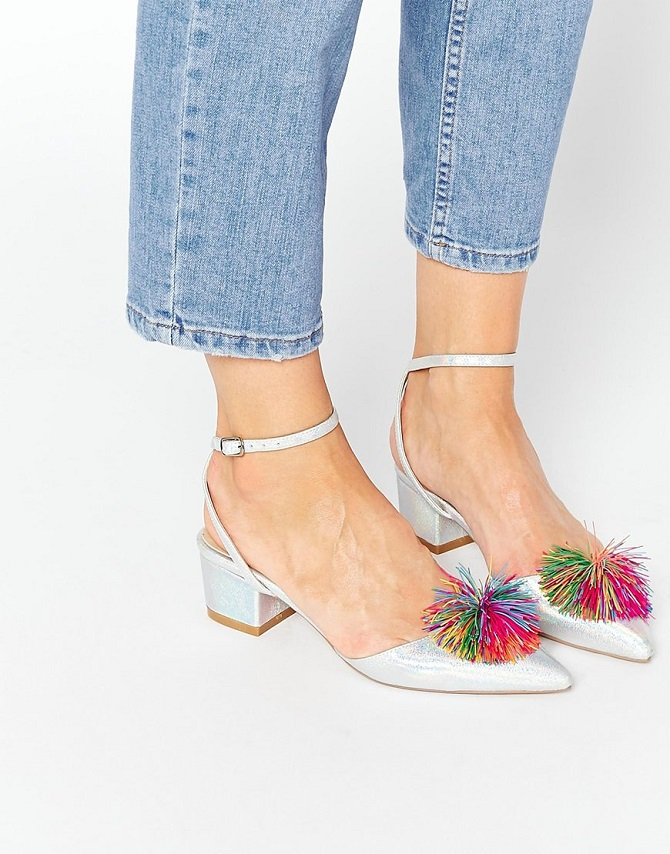 ASOS SAY YOU DON'T Pointed Heels