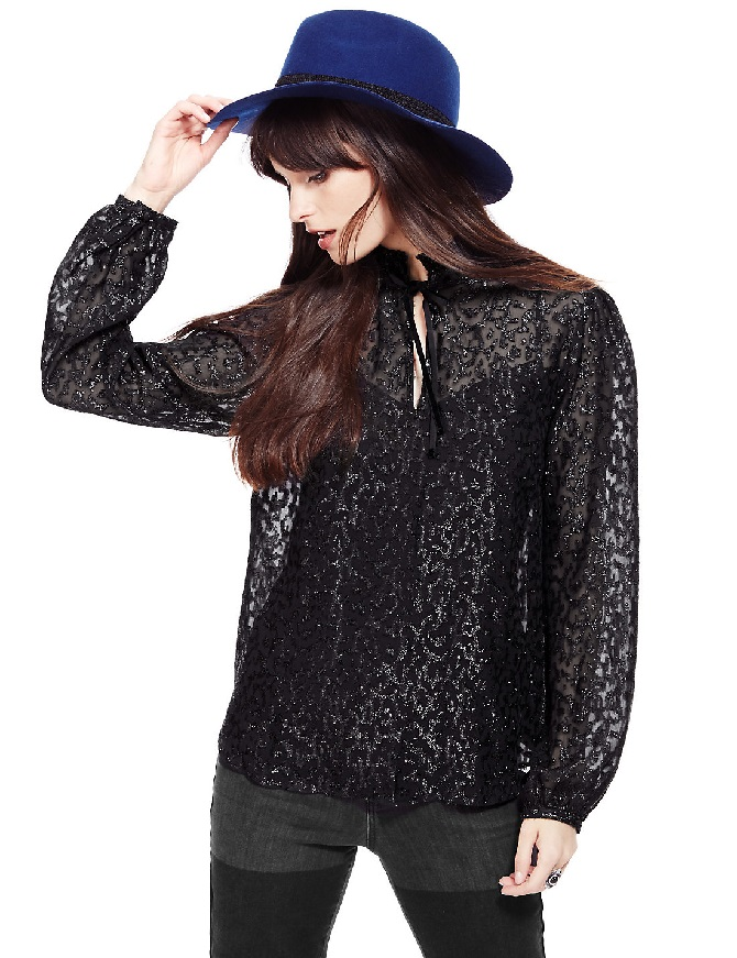 lurex-metallic-effect-textured-blouse-with-camisole