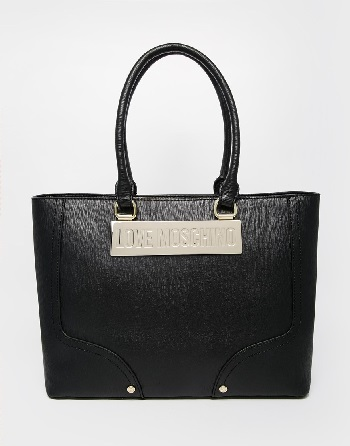 Love Moschino Tote Bag in Black