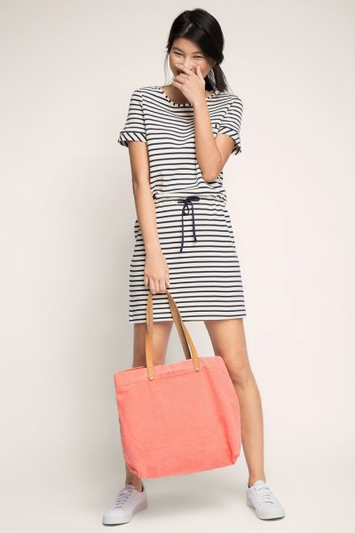 Esprit-Stretch-cotton-piqué-dress