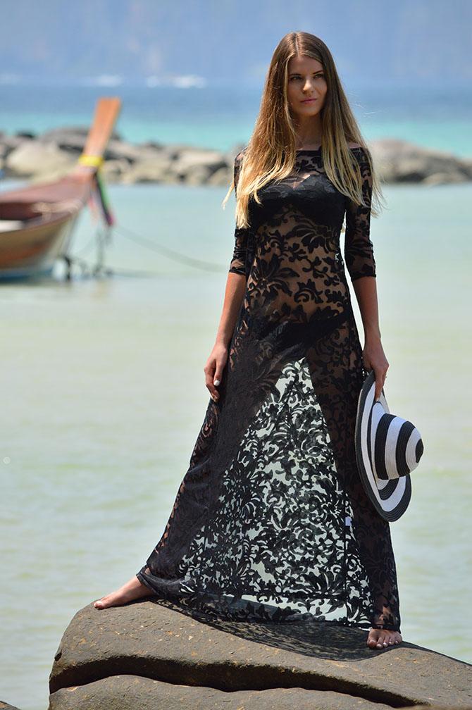 Black-Lace-Maxi-Dress-festival-beach-rokoko-dress