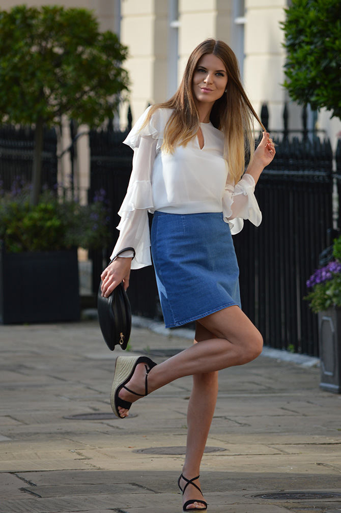 hm-wide-sleeve-top-asos-denim-skirt-fashion-blogger-london