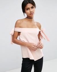 ASOS-Off-Shoulder-Top-pink