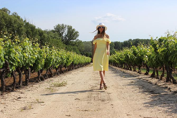 asos-yellow-dress-provence-vineyard