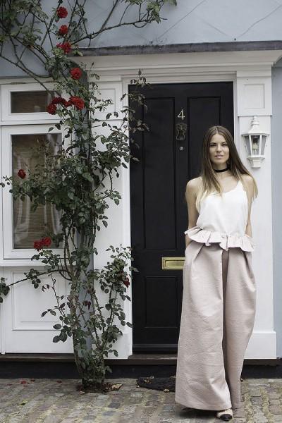 ASOS-White-Bonded-maxi-skirt-cami-top-choker-fashion-blogger-london