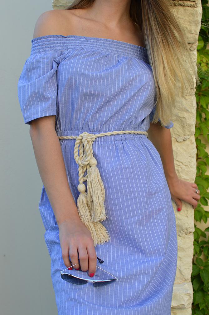 striped-off-the-shoulder-dress-asos