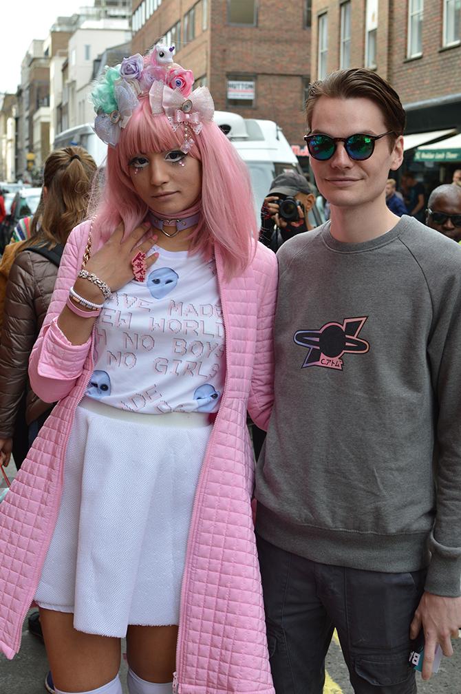 London Fashion Week Street Style Ss17 Fashion Addicted