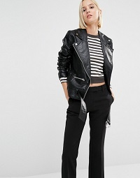 cheap-monday-punch-leather-look-oversized-biker-jacket