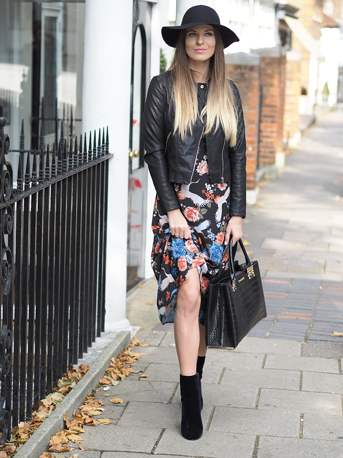 dorothy-perkins-midi-floral-dress-leather-jacket