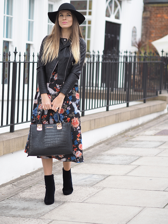 dorothy-perkins-midi-floral-dress