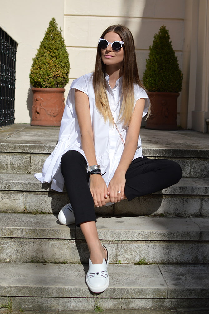 karl-lagerfeld-cat-slip-ons-shoes-asos-white-oversized-shirt-2
