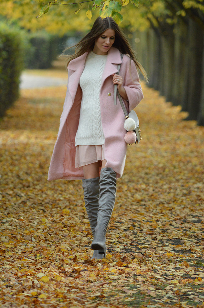 pink-coat-grey-over-knee-boots-autumn-outfit-fashion-blogger-london