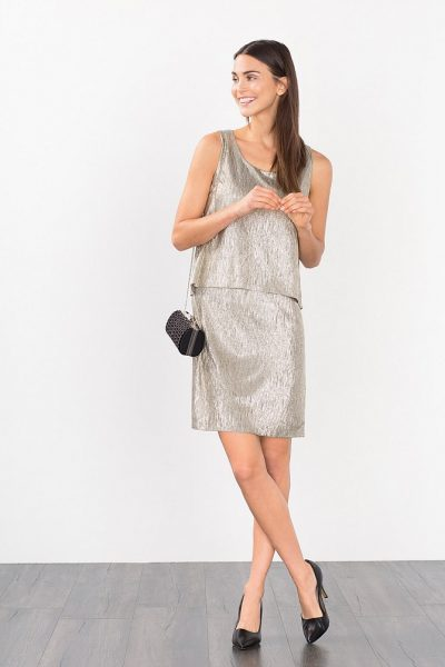 esprit-metallic-dress-gold-1