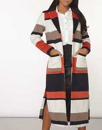 dorothy-perkins-orange-stripe-maxi-coat