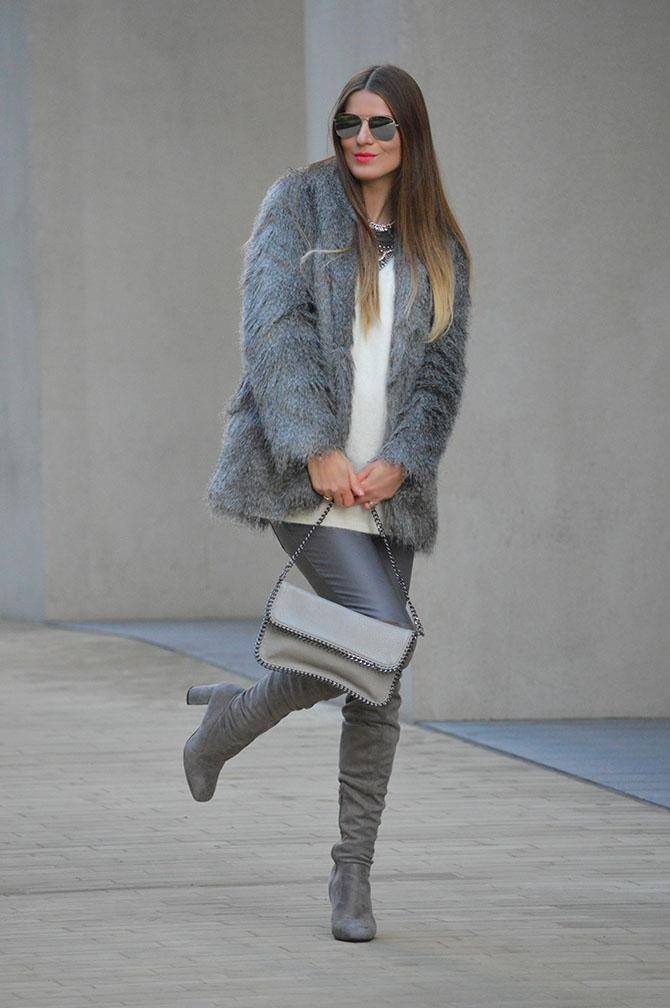 grey-faux-fur-coat-fashion-blogger-london
