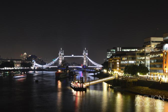 Londin Tower Bridge Thames River