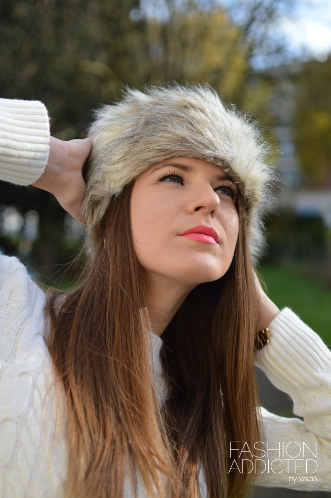 New Look Faux Fur Cossack Hat