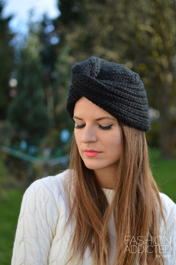 Knitted Turban Hat