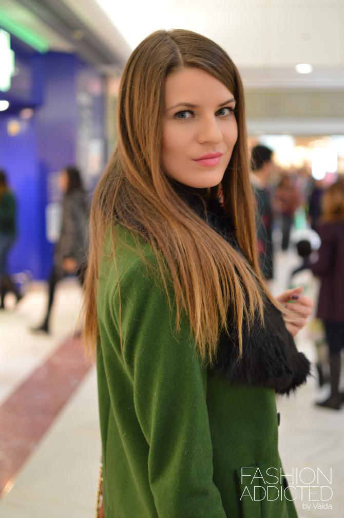 Zara-Double-Breasted-Wool-Coat-Green