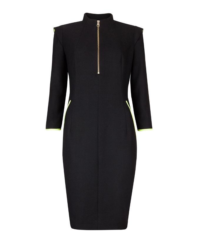 TED-Baker-AEMILIA-Contrast-trim-dress