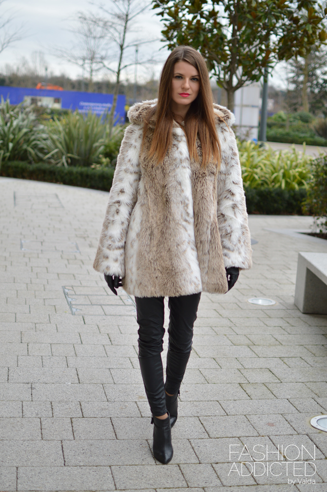 Faux Fur Coat. Winter Coats Under £100 - Fashion Addicted