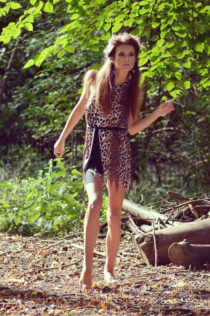 cavewoman photoshoot
