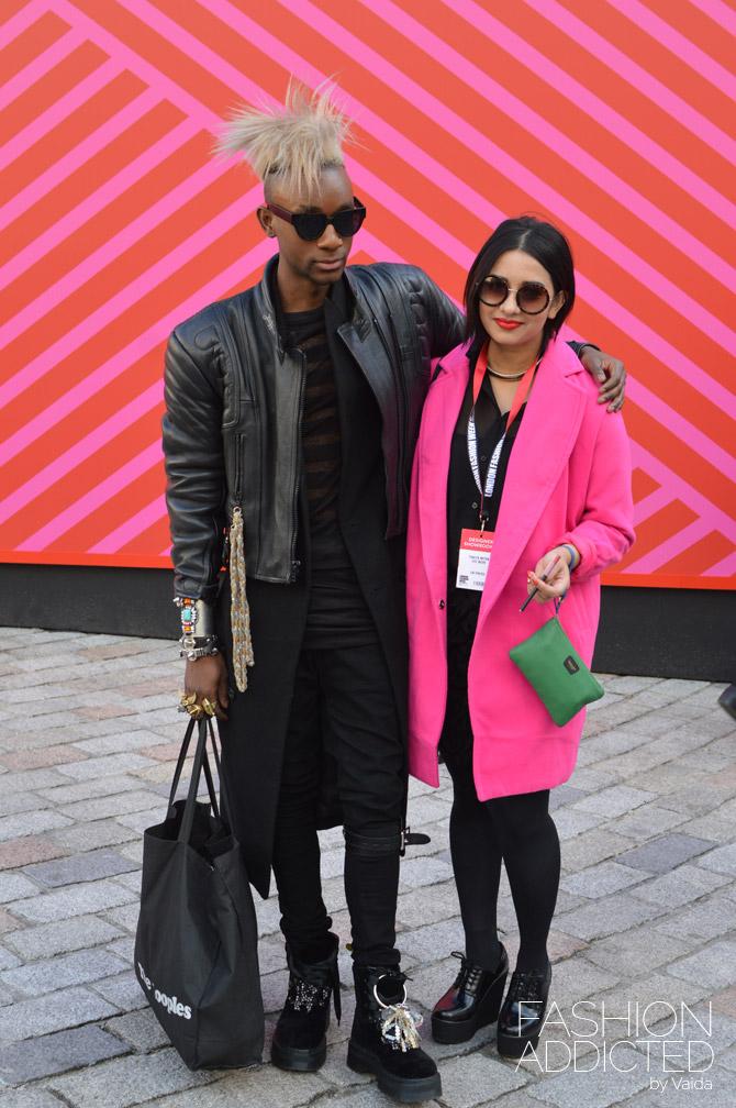 London Fashion Week Street Style A W 2015 Fashion Addicted