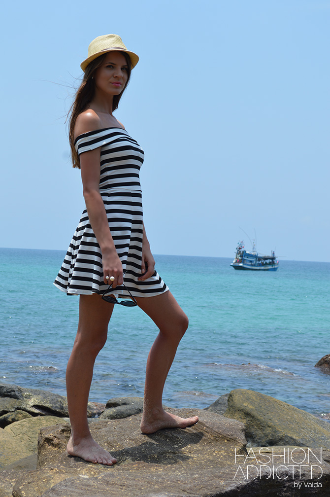 asos stripe dress
