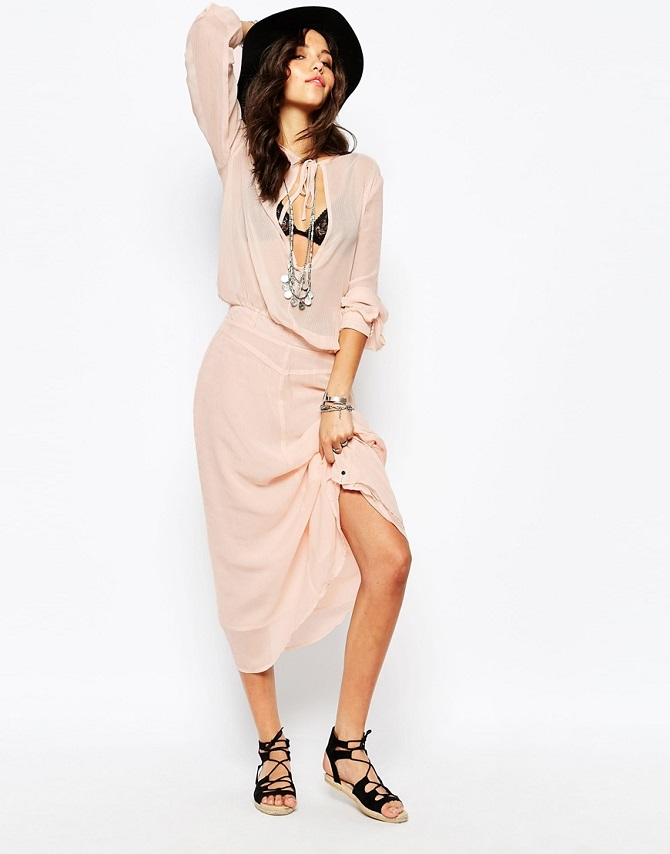 One Teaspoon Soft Fox Maxi Dress