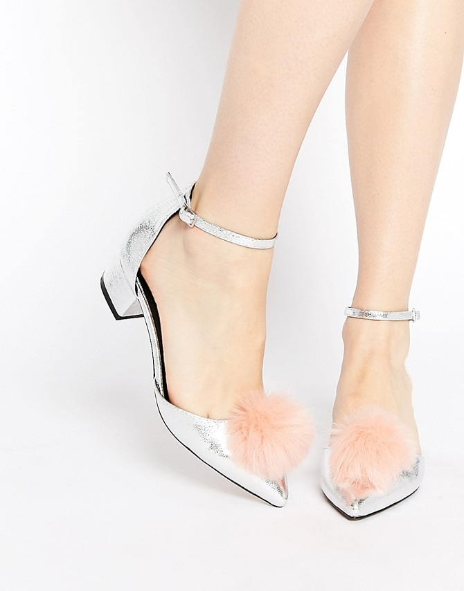 ASOS SAY YOU DO TOO Pointed Heels