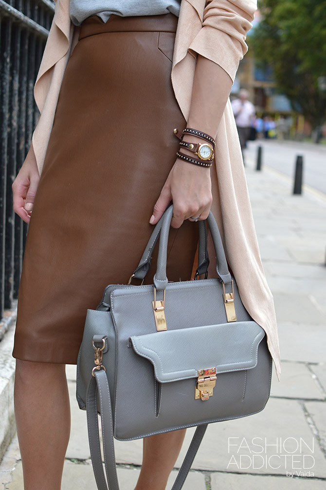 Zara-faux-leather-skirt