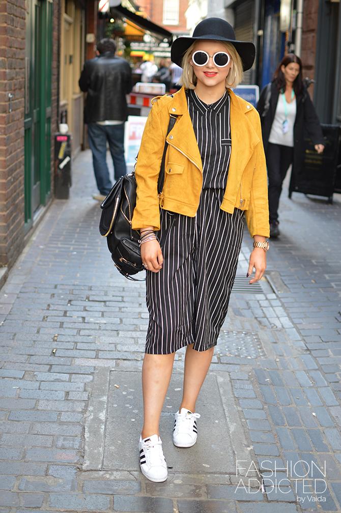 London Fashion Week SS16 Streetstyle