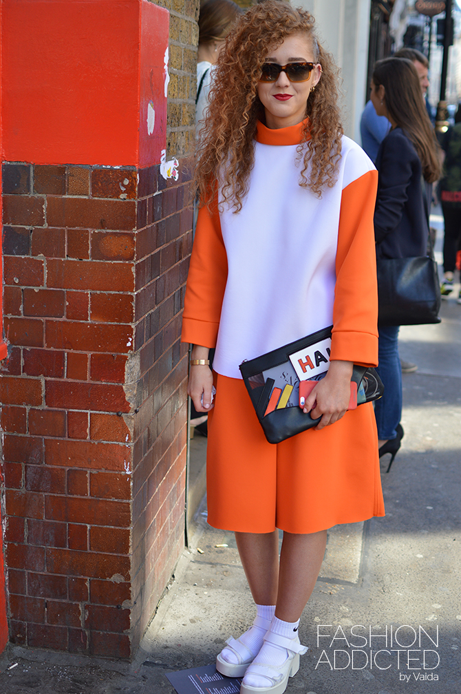 london fashion week ss16 streetstyle fashion addicted