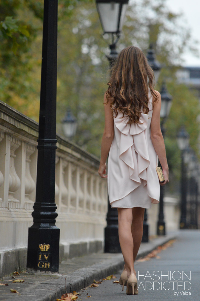 Lauren bow dress