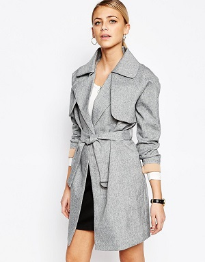 Boohoo Tailored Trench Coat