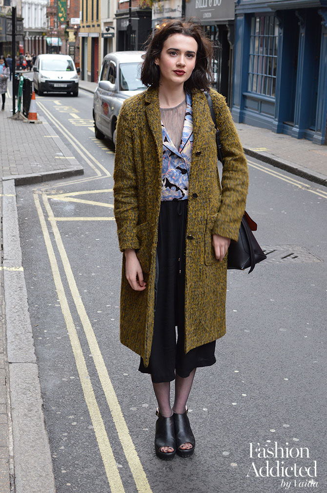 London Fashion Week Aw16 Streetstyle Fashion Addicted